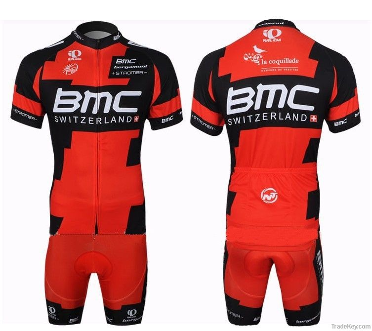 sublimated bike cycling jersey with 100%polyester