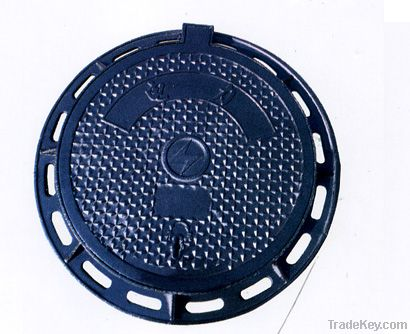 EN124 round manhole cover