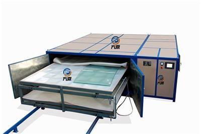 EVA/New PVB/ TPU Laminated Glass Machine With CE Certificate