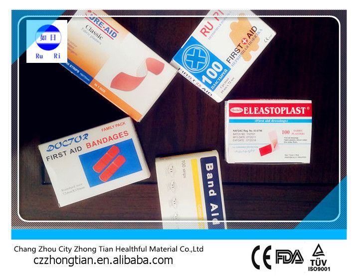 many specifications of wound plaster CE FDA ISO