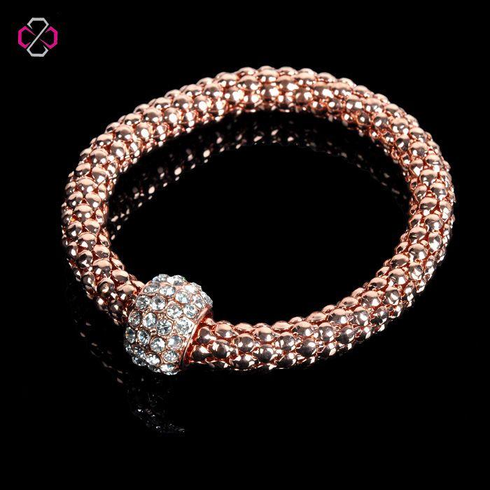 Factory Direct New Fashion Popcorn Chain Charm Bracelets For Women Hot Sale Bracelet