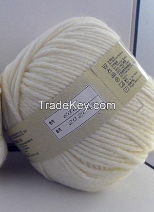 100% pure raw cashmere yarn