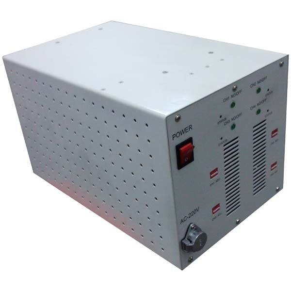 cell phone Jammer 4 band mobile phone jammer 300W