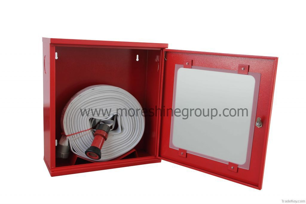 Water hose cabinet