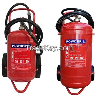 CE(EN3-8) Approved Trolley Powder Extinguishers 25kg 50Kg