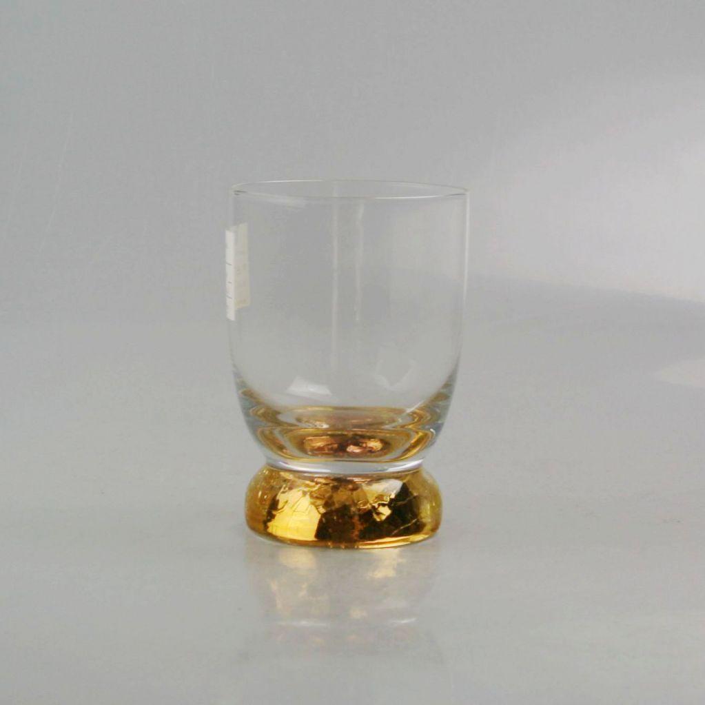 gold-plating decorative drinking stemware set