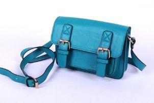 Blue PU shoulder bag 2013 latest design bags women shoulder bag