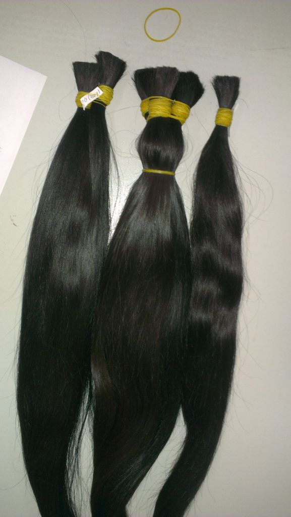 No Shedding Straight Virgin Remy Human Hair 50 Cm (20 Inches)