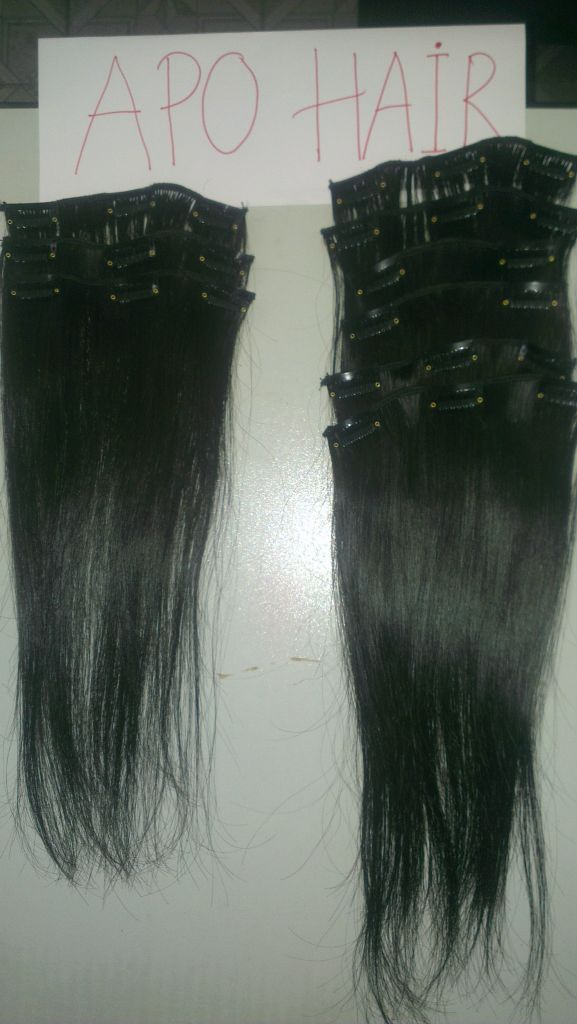 HIGH QUALITY CLIP IN STRAIGHT HAIR EXTENSION