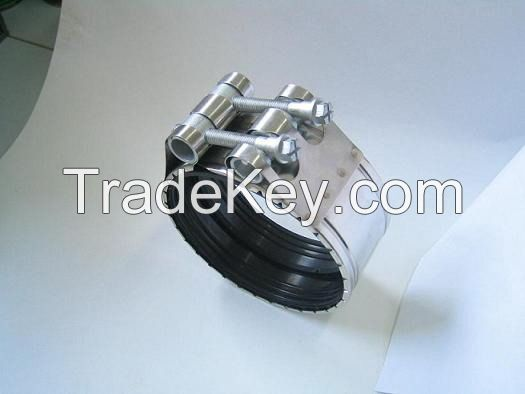 No Hub Couplers/Stainless Steel Clamps