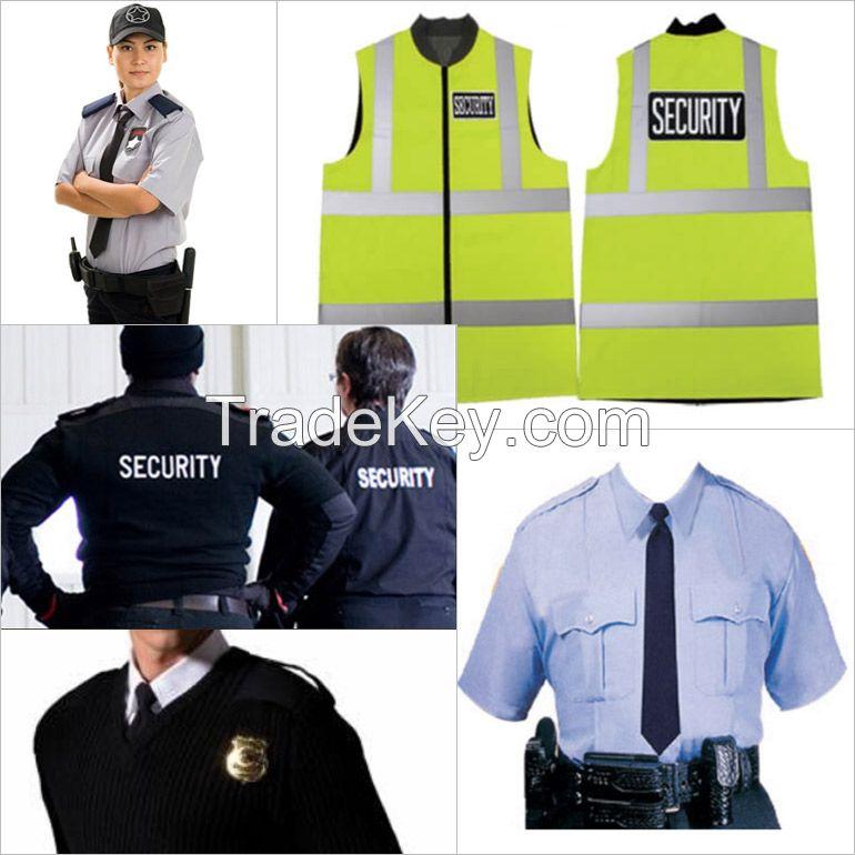 uniform, school uniform, army uniform, security uniform, police uniform