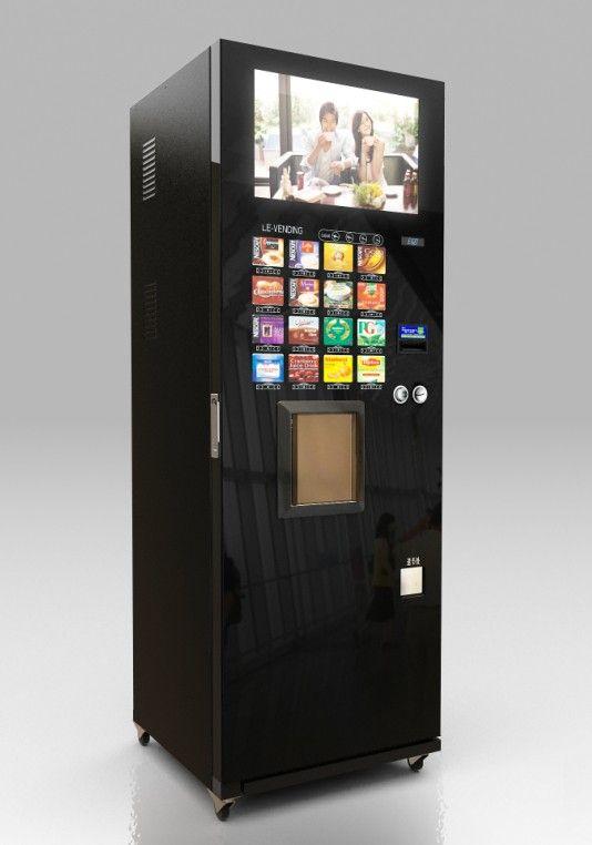 Big LCD screen advertising Coffee vending machine (F308)