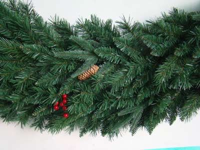 2014 hot sale artifical christmas decorations garland
