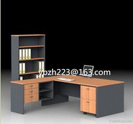 composited color office desk sets