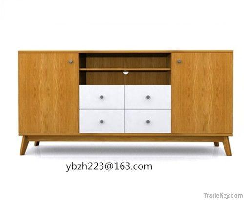 oak veneer dining room sideboards
