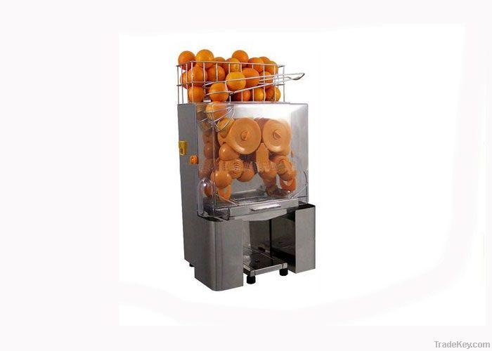 OEM Automatic Commercial Orange Juicer Machine For Supermarket , 120W
