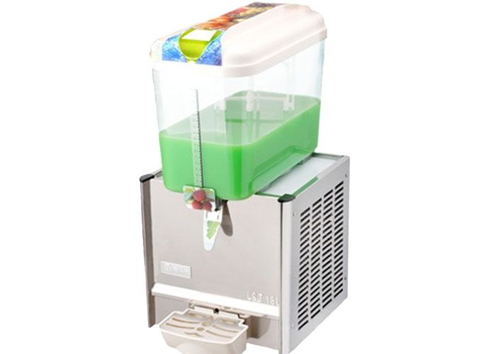 High Capacity Commercial Beverage Dispenser with Mixing Leaf For Drinks