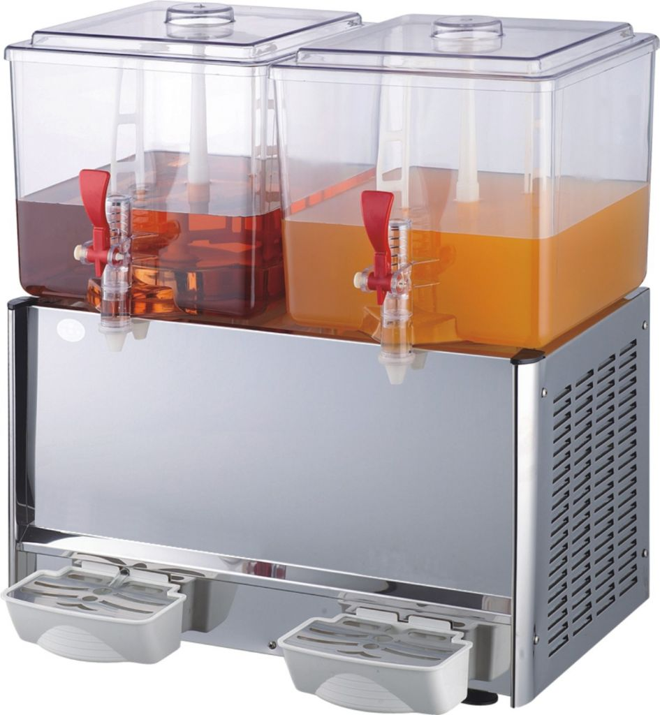 Automatic Commercial Beverage Dispenser For Hot Drinks / Cold Drinks With CE