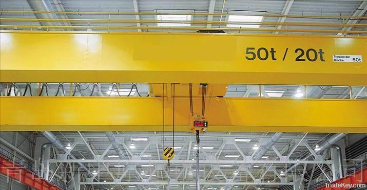 Over head crane double girder for steel industry