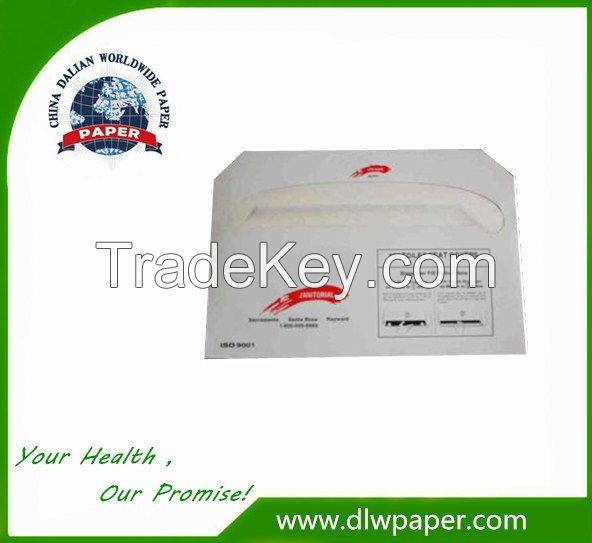 hygienic toilet seat cover paper