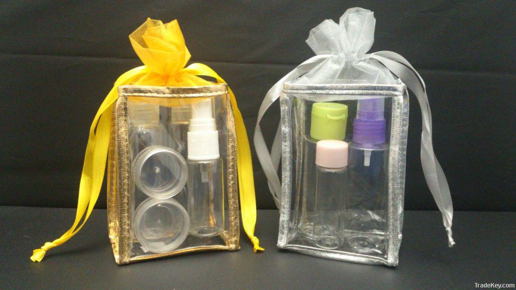 Travel kit bottles