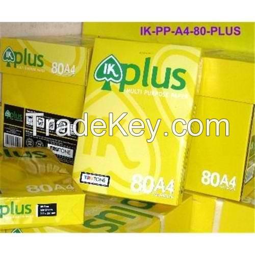 IK Plus A4 80Gsm Copy Paper - Price: US$0.20