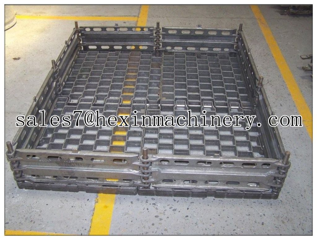 heat treatment centrifugal casting basket tray