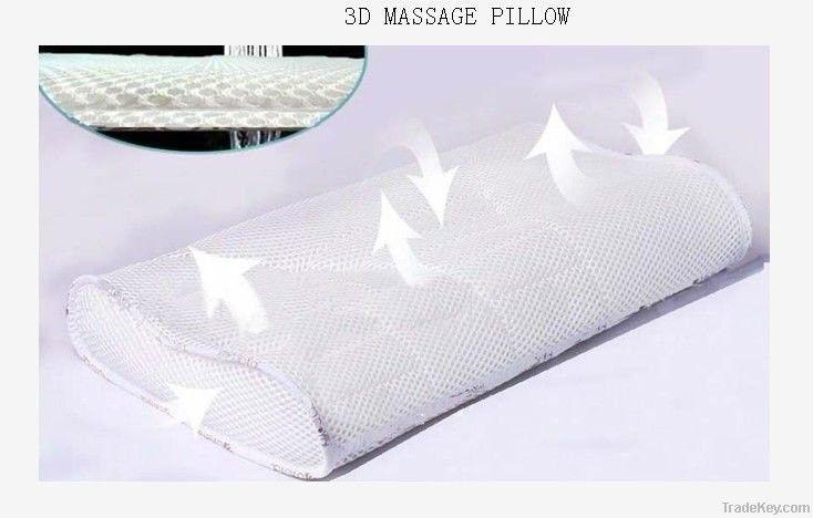 3D negative ion pillow