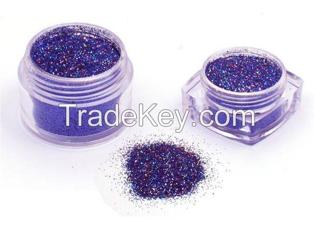 Hologram Violet Glitter