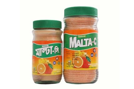 Malta-C orange drink