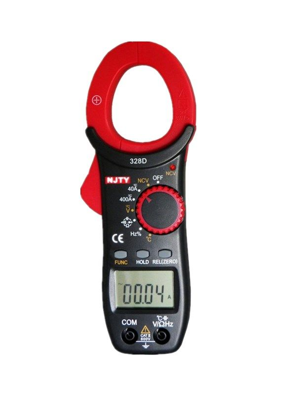 400A AC/DC Auto-ranging Clamp Meter with 3-3/4 Digits and Data Hold Function