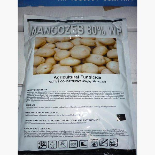 fungicide exciplex mancozeb 80% WP for Vegetables downy mildew