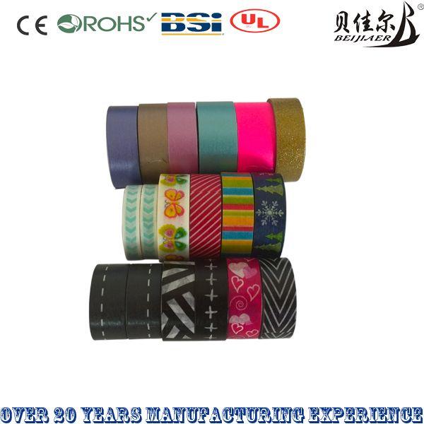 Washi tape japanese tape decorate tape colorful tape glitter tape
