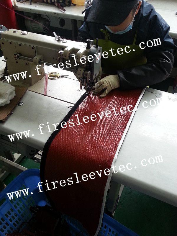 BSTFLEX Silicone coated fiberglass fireproof sleeve