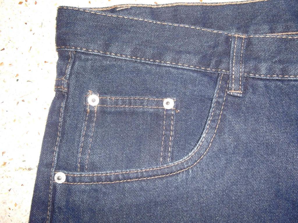 Mens Basic Five Pocket Denim Pant