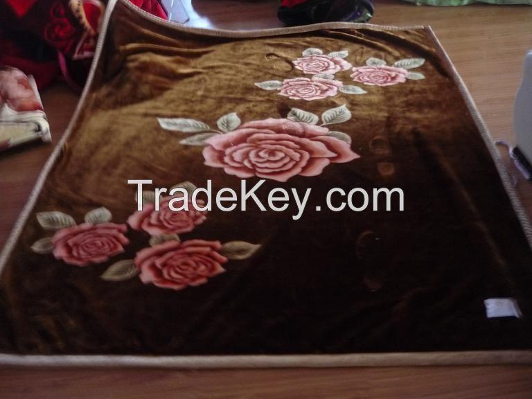 100% polyester blanket