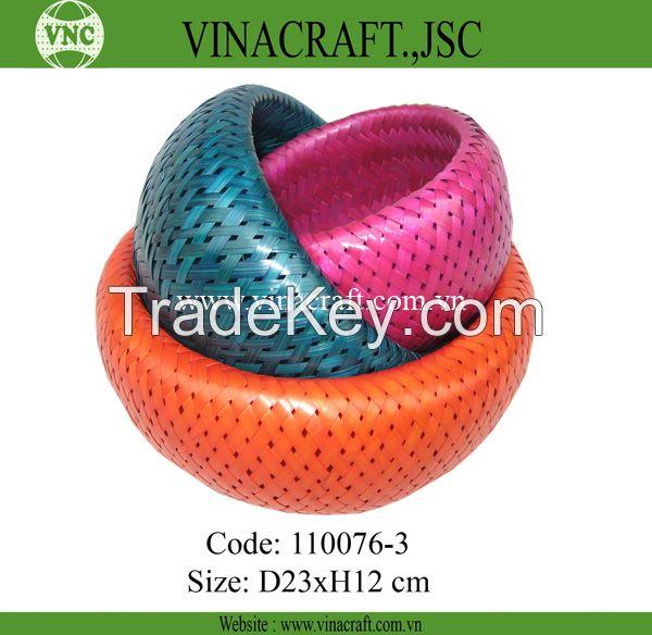 High quality bamboo storage basket