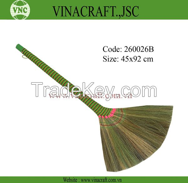 Vietnam grass broom with long handle