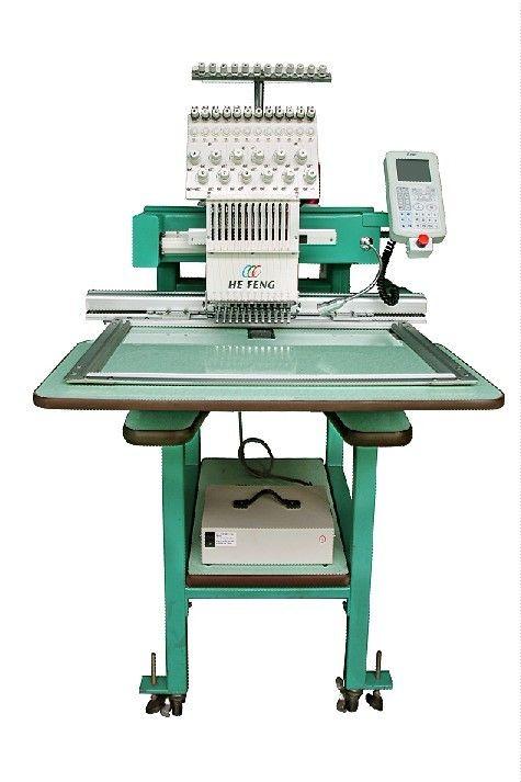 single head computerised embroidery machine 12 needles