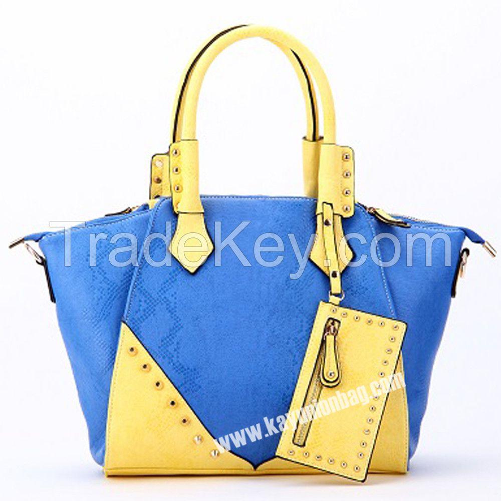Rivet Shoulder Bags Small MOQ With Mix Color