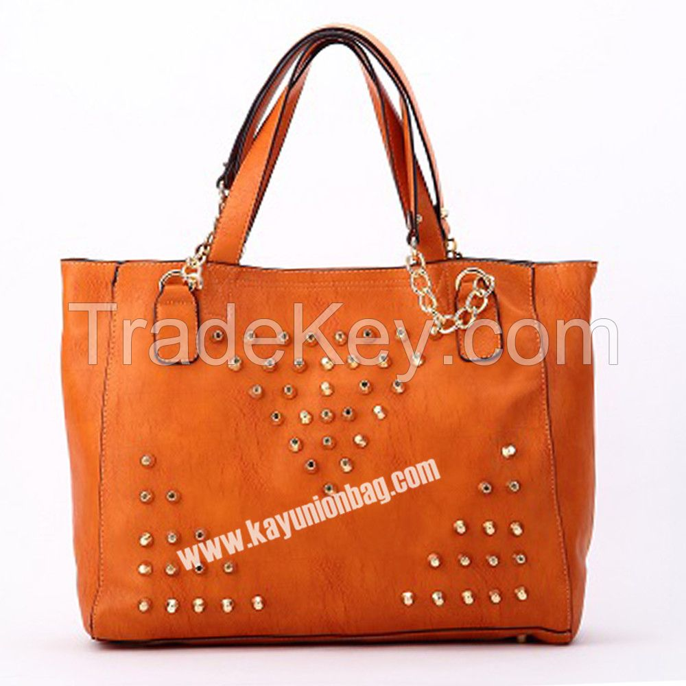 Chain Bag Cross With Double Handle