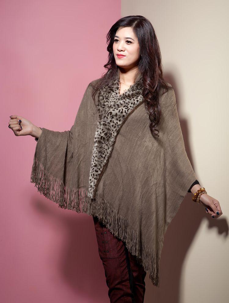 2014 winter warm acrylic shawls wholesale