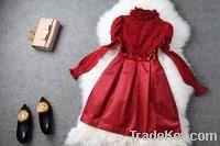 Girls dresses red