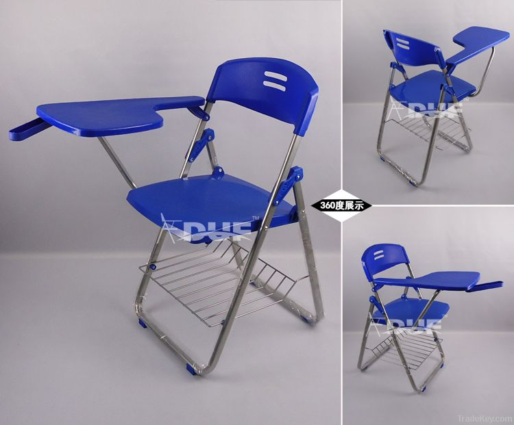 folding chair with writing tablet study room chairs student chair