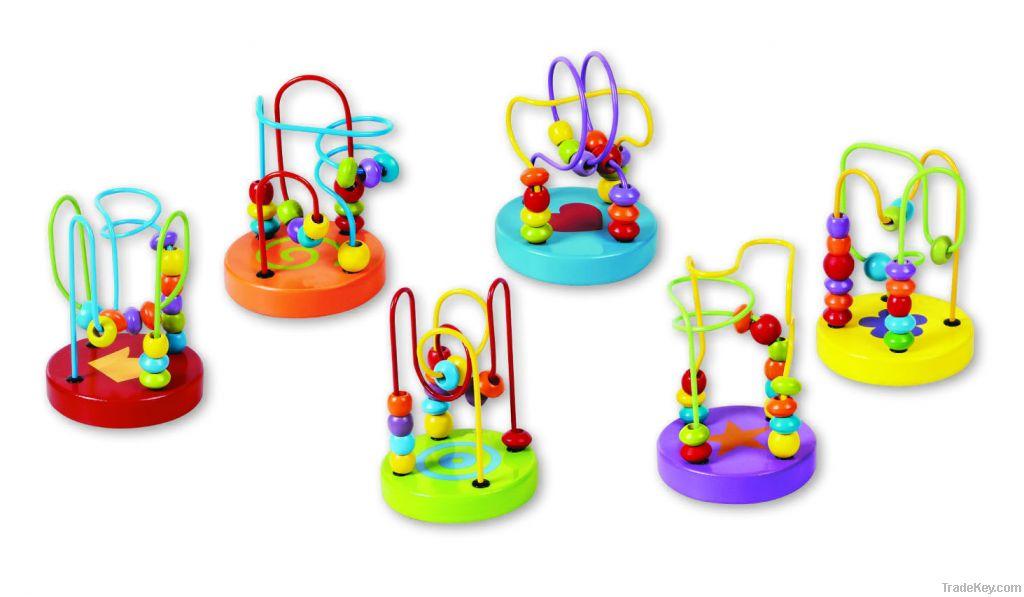 Wooden Mini Beads Coaster