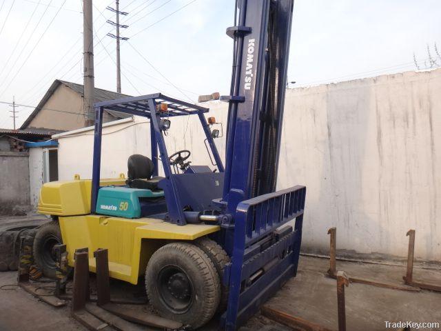 Sell Used forklifts Komatsu FD50-6