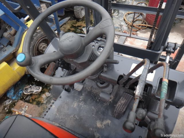Used TOYOTA Forklift  6FD25