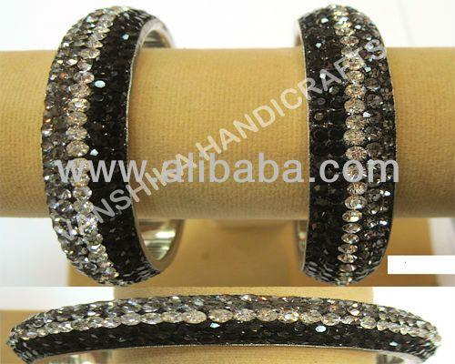 lac bangle (crystal bangle) pure brass