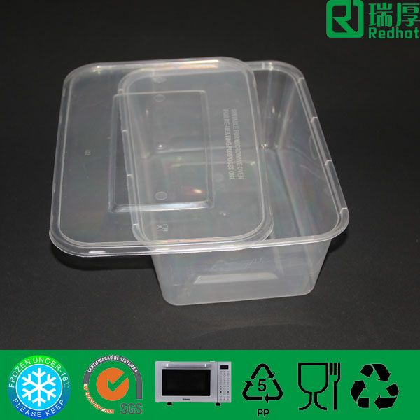 PP Disposable Take Away Food Container 1500ml