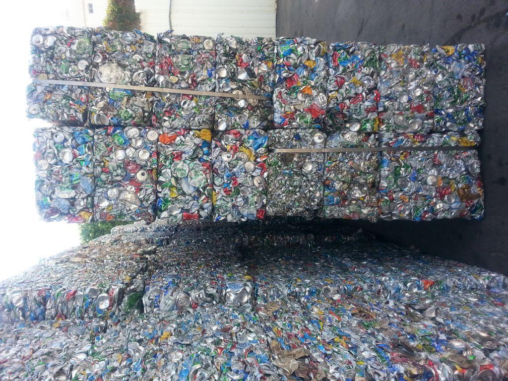 Scrap UBC (97% Aluminum at least)